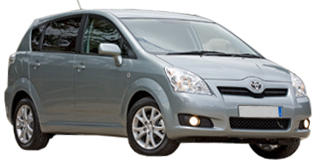 Rent a Family 7 Seater Vehicle (group F)